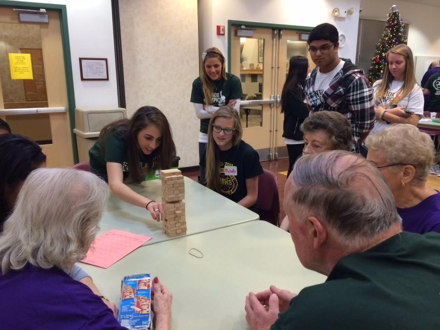 Traditional competition forms new bonds between seniors