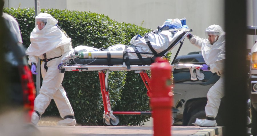Ebola poses deadly threat to humanity