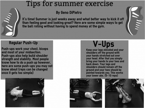 Tips for summer exercise