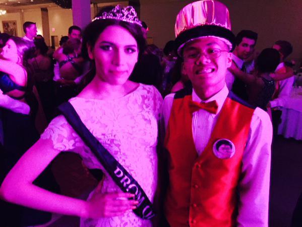 Senior Mia Santos runs for prom queen, breaks gender barriers