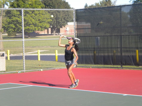 EGHS girls tennis players enjoy successful season