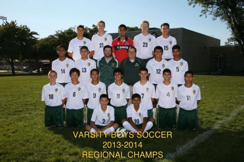 Boys soccer team works as one, continues to fight.
