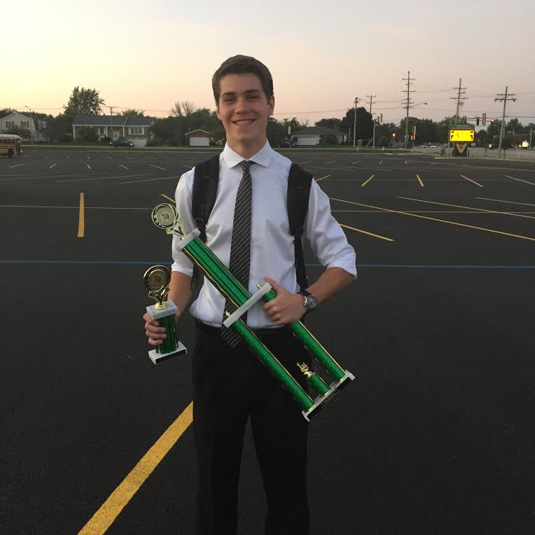 Debate performs well at first competition, Paul wins awards in several categories