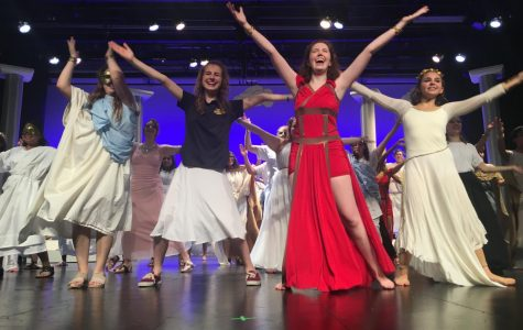 Fall play cast demonstrates versatility in 'Olympiaganza'