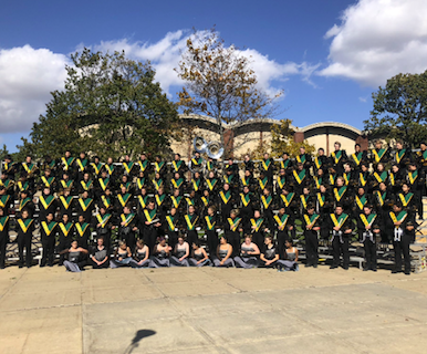 EGHS band, color guard close out successful season at ISU