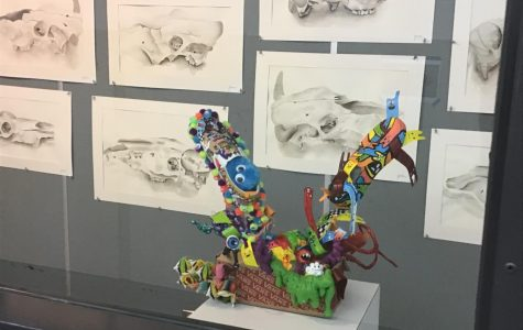 EGHS seniors showcase shoe art in online contest