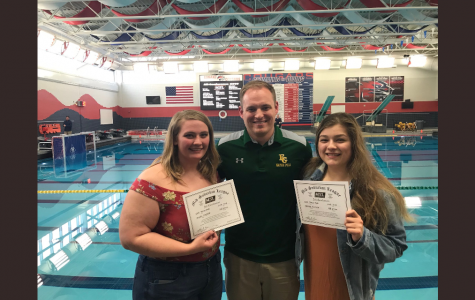 Hatfield, Herrera set water polo milestones